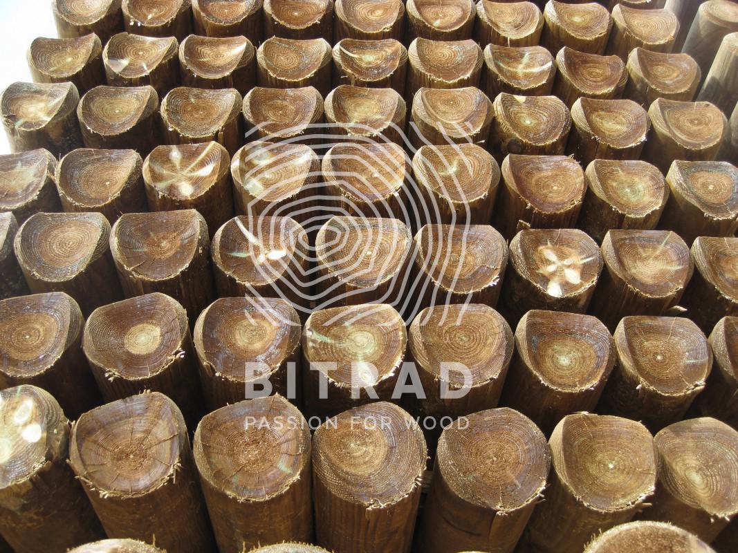 Tutores de madera torneados. PPHU Bitrad