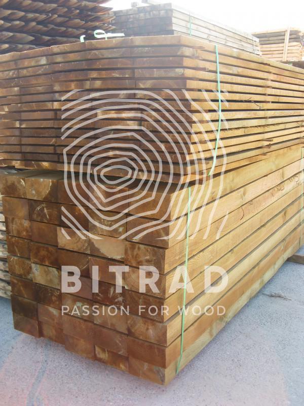 Traviesas de madera. PPHU Bitrad