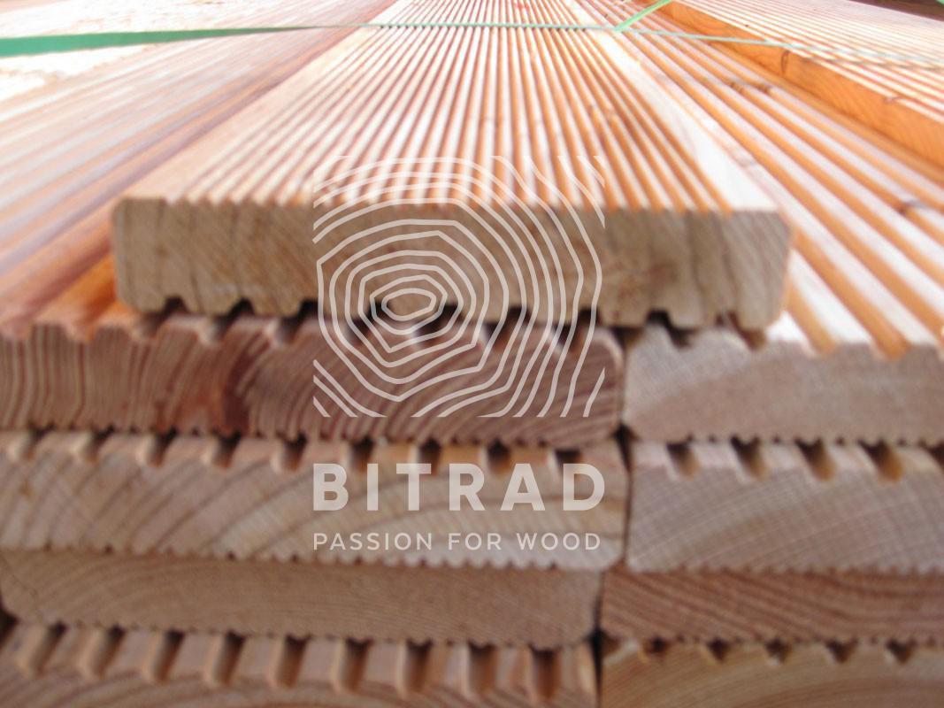 Tutores de madera tratada autoclave. PPHU Bitrad